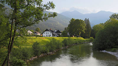 Slovenia. Houses Poster