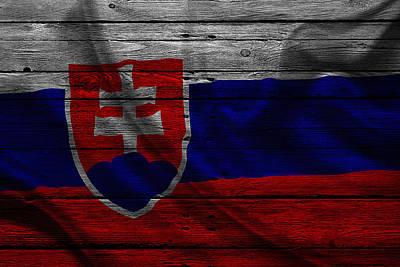Slovakia Poster by Joe Hamilton