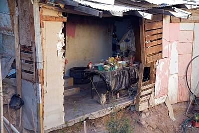 Slum Dwelling Poster by Jim West