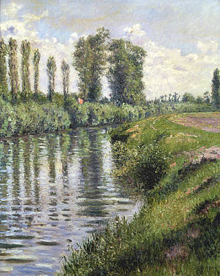Small Branch Of The Seine At Argenteuil Poster by Gustave Caillebotte
