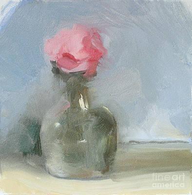 Small Vase Poster by Jayne Morgan