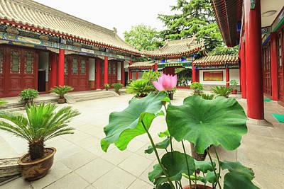 Small Wild Goose Pagoda, Jianfu Temple Poster by Stuart Westmorland