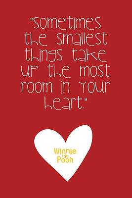 Smallest Things Poster by Nancy Ingersoll