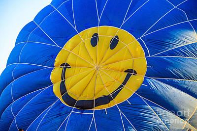 Smiley Balloon Poster