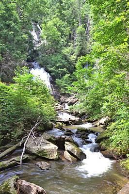 Smith Creek Downstream Of Anna Ruby Falls - 3 Poster by Gordon Elwell
