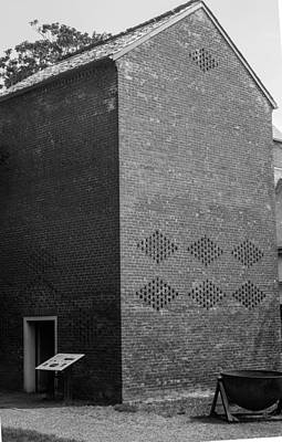 Smoke House Belle Meade Mansion Poster by Robert Hebert