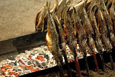 Smoked Mackerel Poster