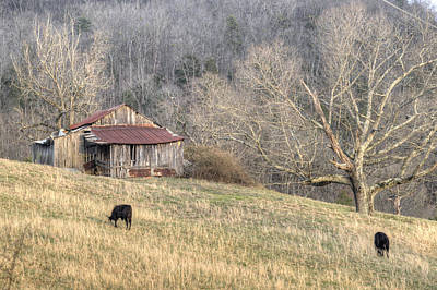 Smoky Mountain Barn 3 Poster