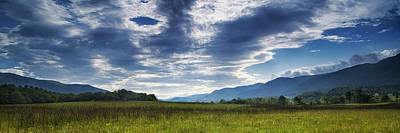 Smoky Mountain Panorama Poster by Andrew Soundarajan