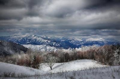 Smoky Mountain Range Poster