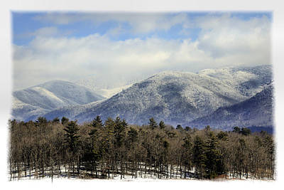 Smoky Mountain Winter Poster