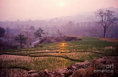 Smoky Sunrise Nepal Poster