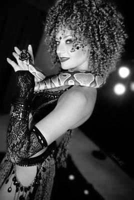 Snake Priestess Poster