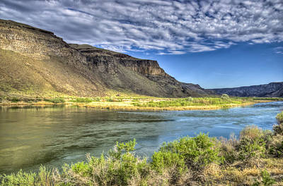Snake River Afternoon Poster