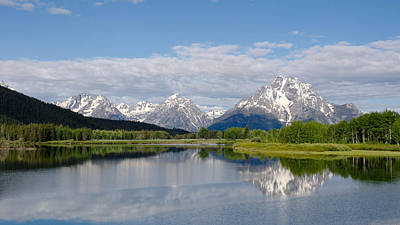 Snake River In Grand Teton  Poster by Gary Wightman