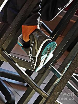 Sneaker Poster by Sarah Loft