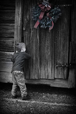 Poster featuring the photograph Sneaking A Peek by Kelly Hazel