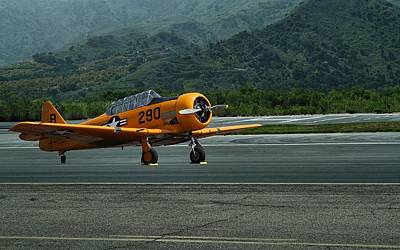 Snj-5 T-6 Texan Trainer Poster