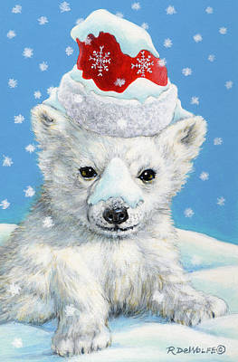 Sno-bear Poster by Richard De Wolfe