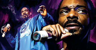 Snoop Dogg Artwork Poster