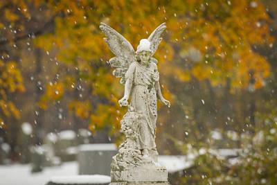 Snow Angel Poster by Daniel Dangler
