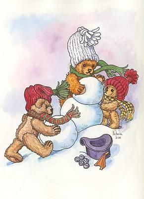 Snow Bears Poster