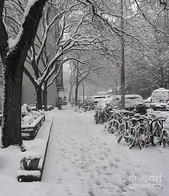 Snow Bikes Poster
