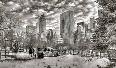 Snow In N.y. Poster