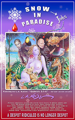 Snow In Paradise Poster