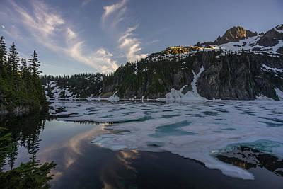 Snow Lake Last Ice Poster