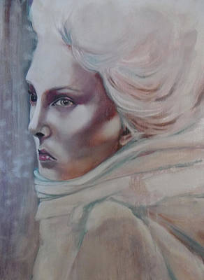 Poster featuring the painting Snow Queen by Irena Mohr