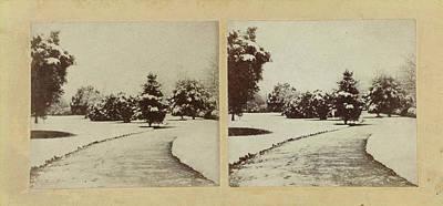 Snow Scene Cheltenham, Uk, Baynham Jones Poster by Artokoloro