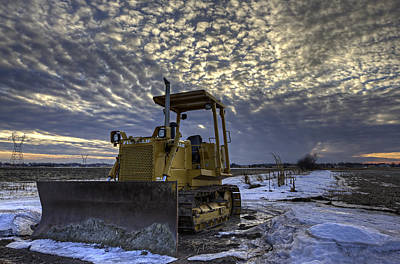 Snow Tank Poster by Aaron J Groen