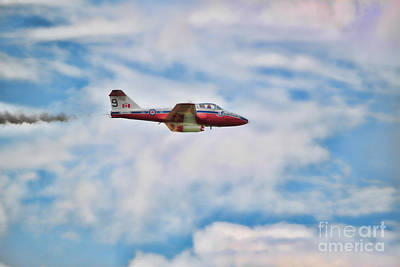 Snowbirds Number 9 Poster by Cathy  Beharriell