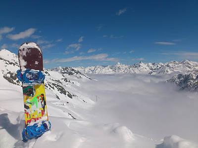 Snowboarding In Austria Poster