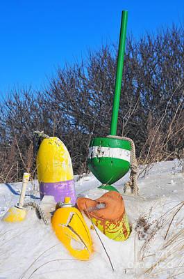 Snowbound Buoys Poster