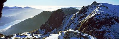 Snowcapped Mountain Range, The Cobbler Poster