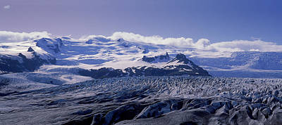 Snowcapped Mountains On A Landscape Poster by Panoramic Images