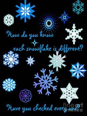 Snowflakes 2 Poster