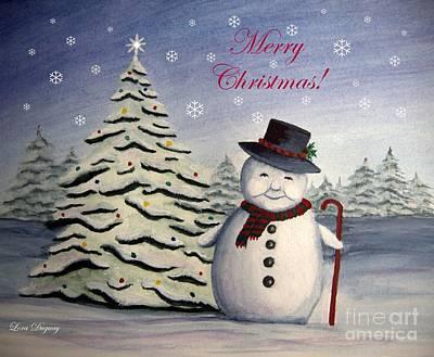 Snowman's Christmas Poster