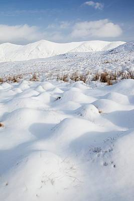 Snowy Hummocks Poster
