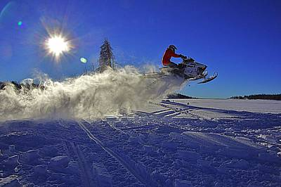 Snowy Launch Poster by Matt Helm