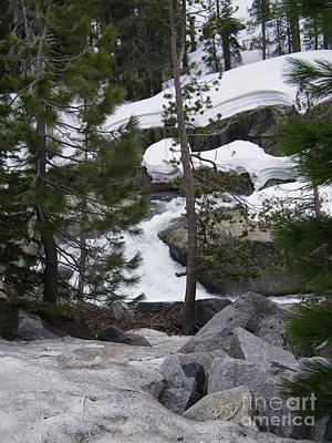 Poster featuring the photograph Snowy Sierras by Bobbee Rickard