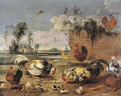 Snyders, Frans 1579-1657. Fight Poster