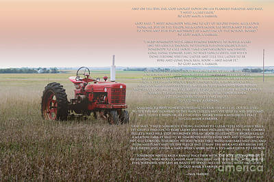 So God Made A Farmer Poster