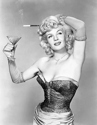 So This Is Paris, Corinne Calvet, 1955 Poster