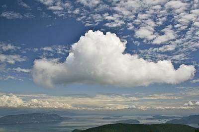 Soaring Cloud Poster by Jim Gillen