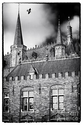 Soaring In Bruges Poster