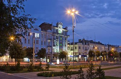 Soborna Street Vinnytsya Poster by Zoriy Fine
