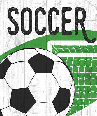 Soccer Poster by Aubree Perrenoud
